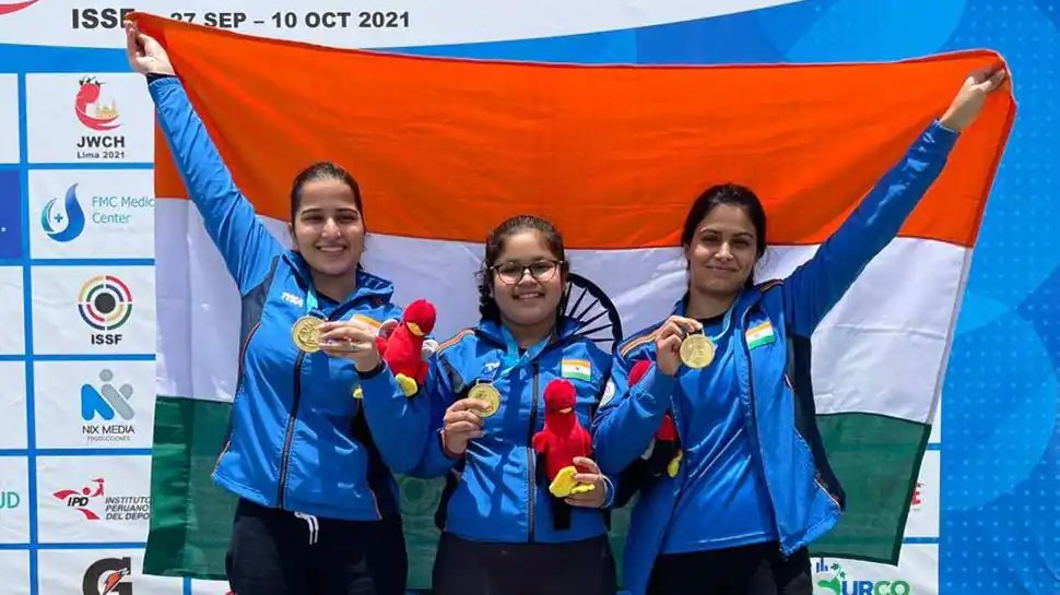 Shooting: India end junior world championship with 30 medals