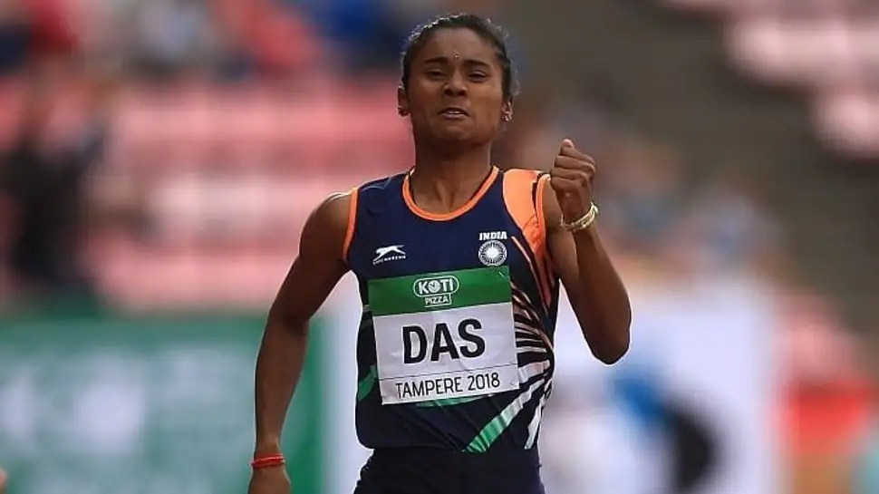 Star athlete Hima Das tests Covid-19 positive, vows to 'come back stronger'