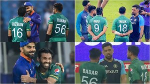 Virat Kohli hugs, MS Dhoni chats with Pakistan players, 'spirit of Cricket' prevails, say netizens after T20 World Cup clash