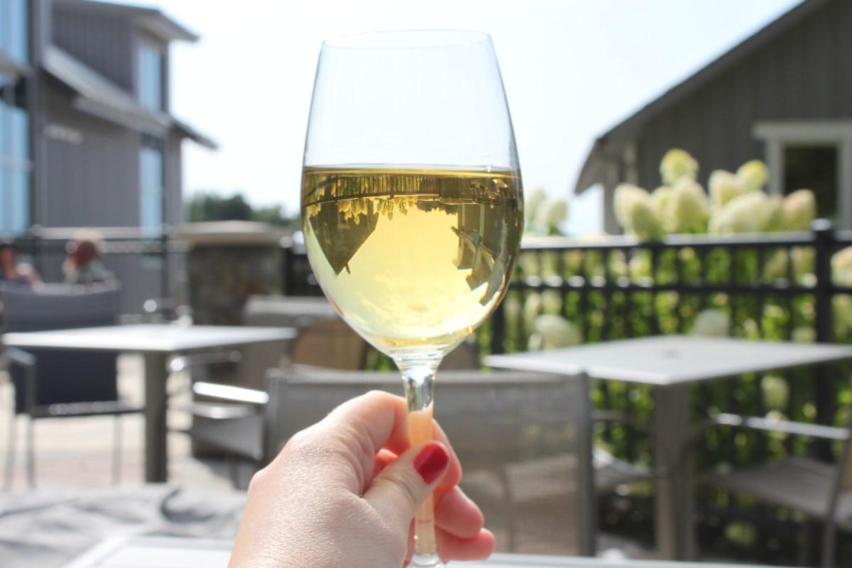 Wine at Dablon Winery