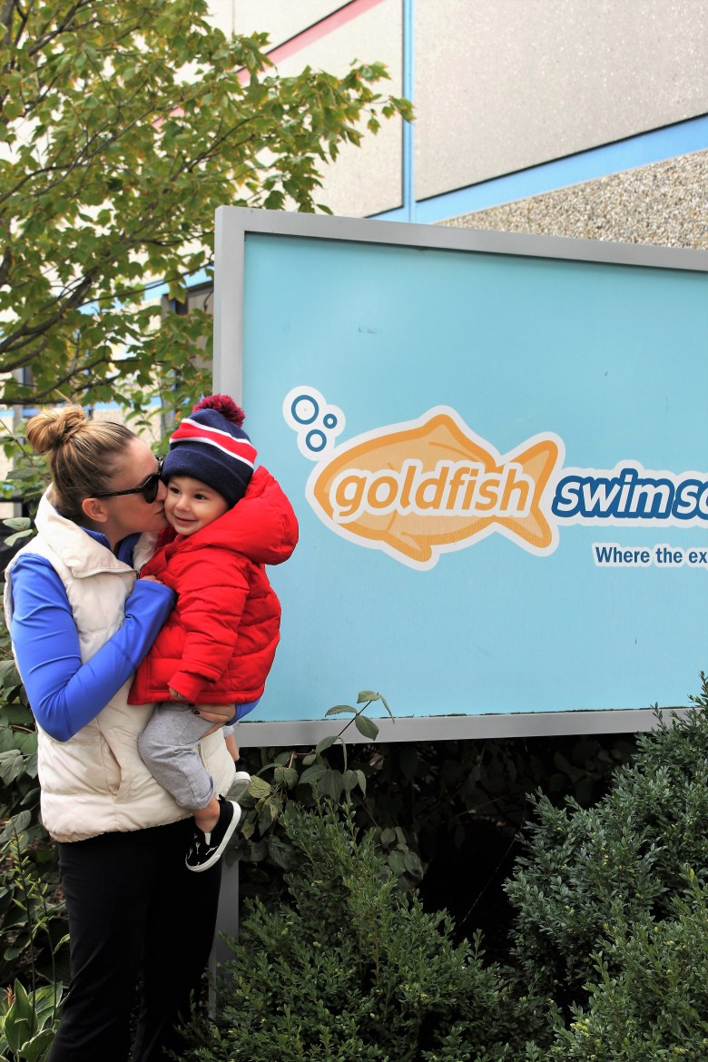 swimming lessons at Goldfish swim school. They are offering a great holiday package this year.