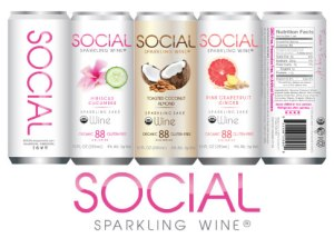 holiday gift guide, chicago brand, social sparking wine. gift, wine, holidays