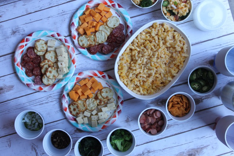 National cheese lover's day party using solo products
