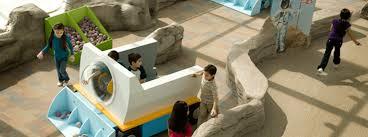 Kids playroom at the Adler Planetarium