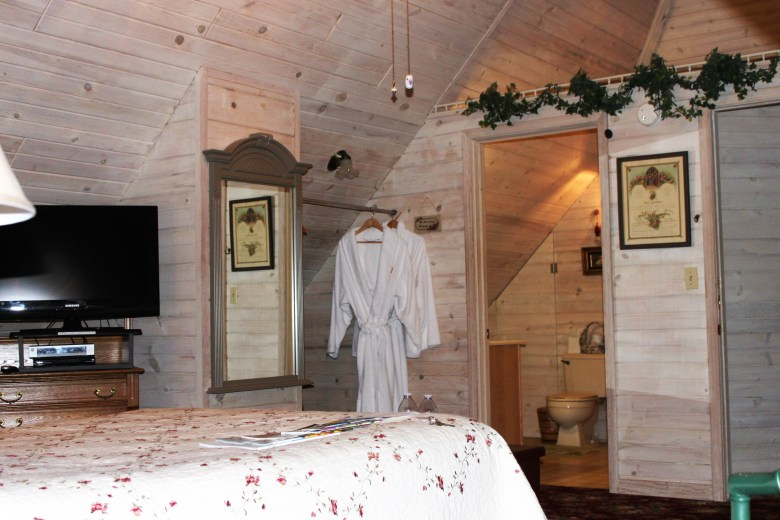 inside the rooms at the kingsley house