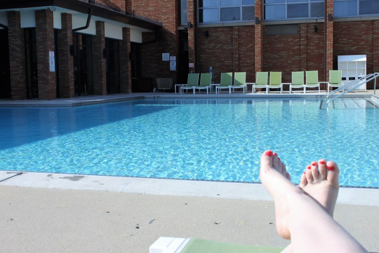 Staycation at the marriott lincolnshire resort. Perfect for a mom-cation.