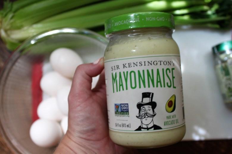 egg salad recipe, easy, home cooking, sir kensington's mayo