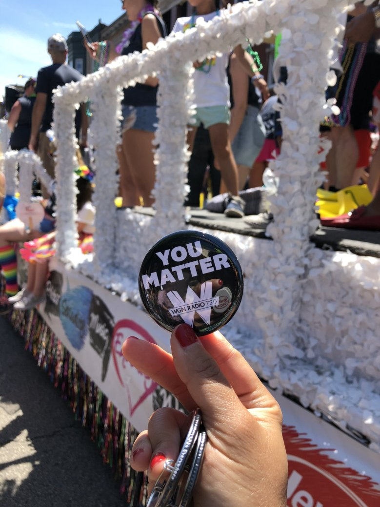 WGN Radio Chicago Pride Parade