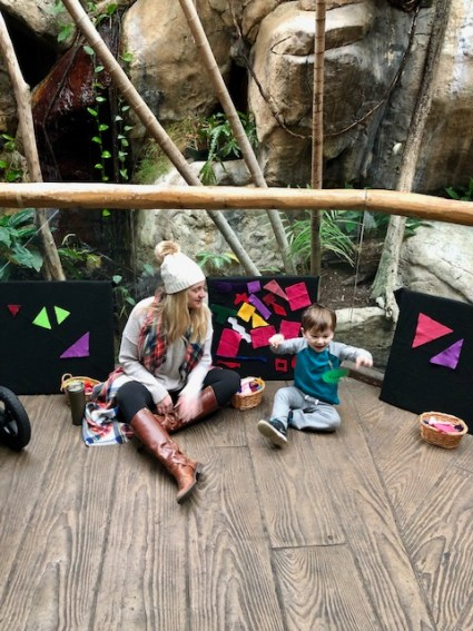 LEAP classes at Lincoln Park zoo, activities for toddlers