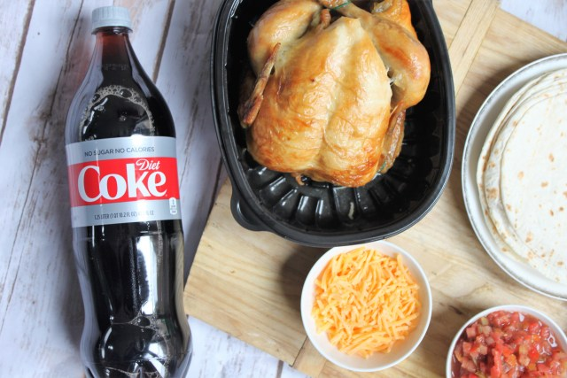 Diet Coke and rotisserie chicken for the ultimate final four watch party
