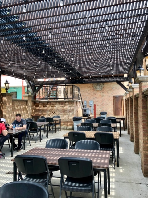 L'Patron is a BYO taco restaurant in Logan Square with a big patio and really good tacos!