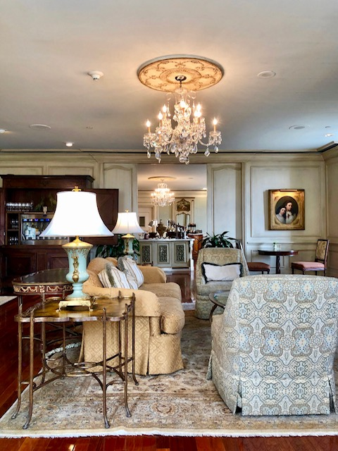 The Ritz Carlton is a beautiful building with great food, top notch service and the best experience for a couples trip. This is the Club Lounge level.