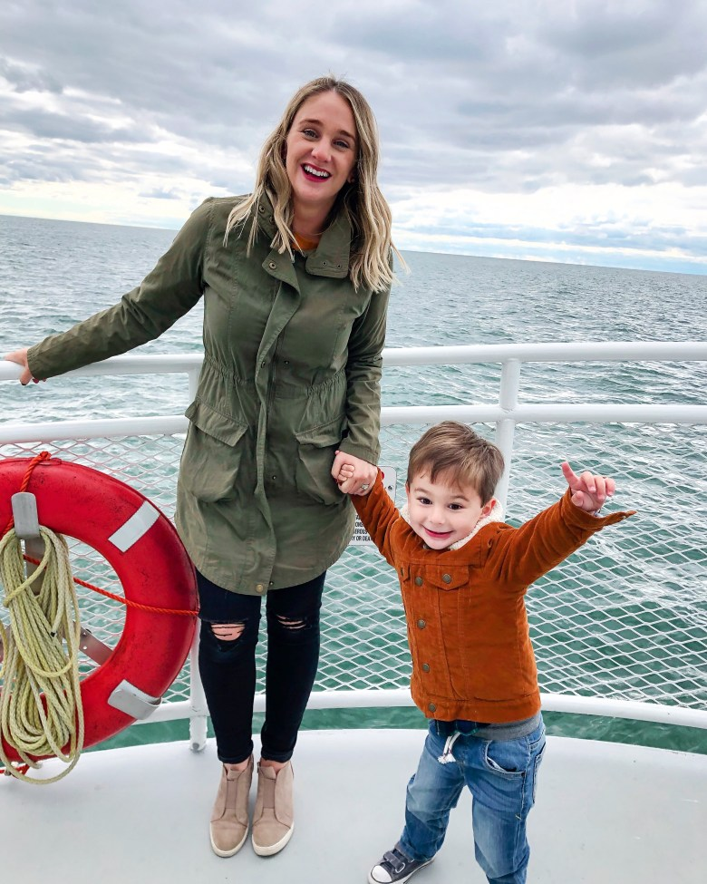 Star of Saugatuck is a boat ride to experience in Saugatuck, MI. It goes on the Kalamazoo River and onto Lake Michigan. You learn a little about area and it's history. Our family loved it!