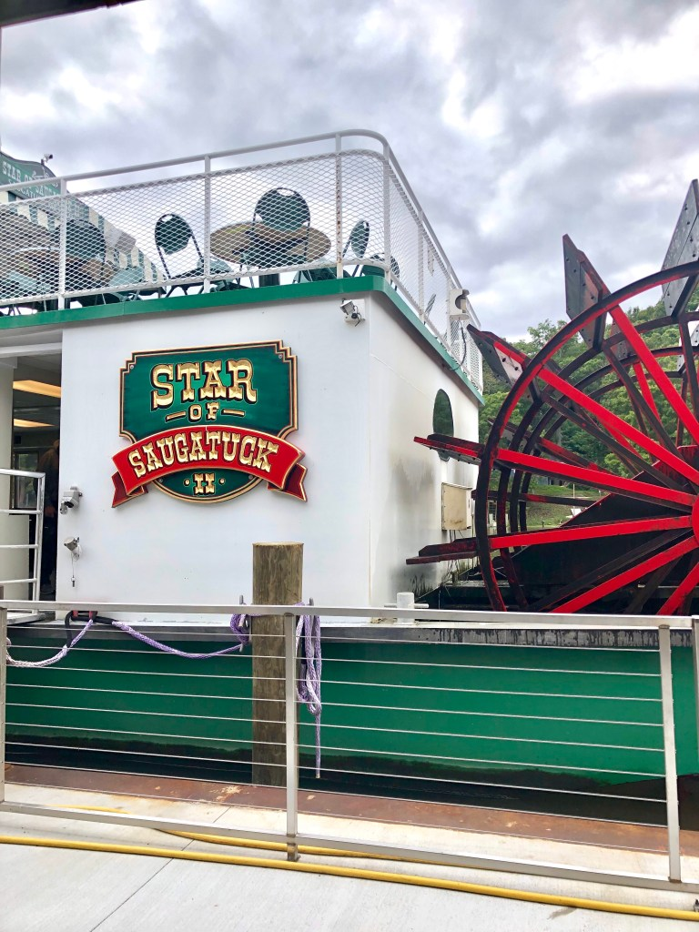 Star of Saugatuck is a boat ride to experience in Saugatuck, MI. It goes on the Kalamazoo River and onto Lake Michigan. You learn a little about area and it's history.