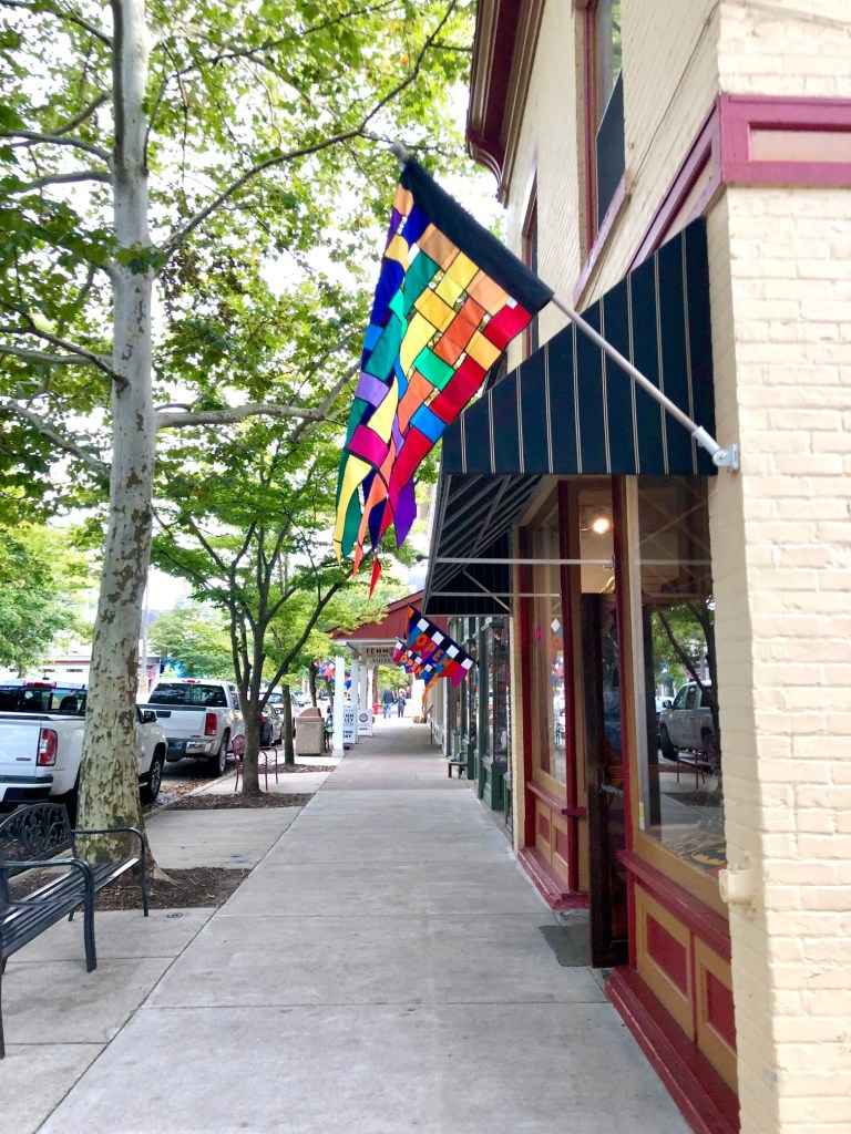 Since airplane travel is not very popular right now, taking road trips around the Midwest is a fun activity. Saugatuck, MI is a cute town in Michigan with lots to do on the water, at an apple orchard