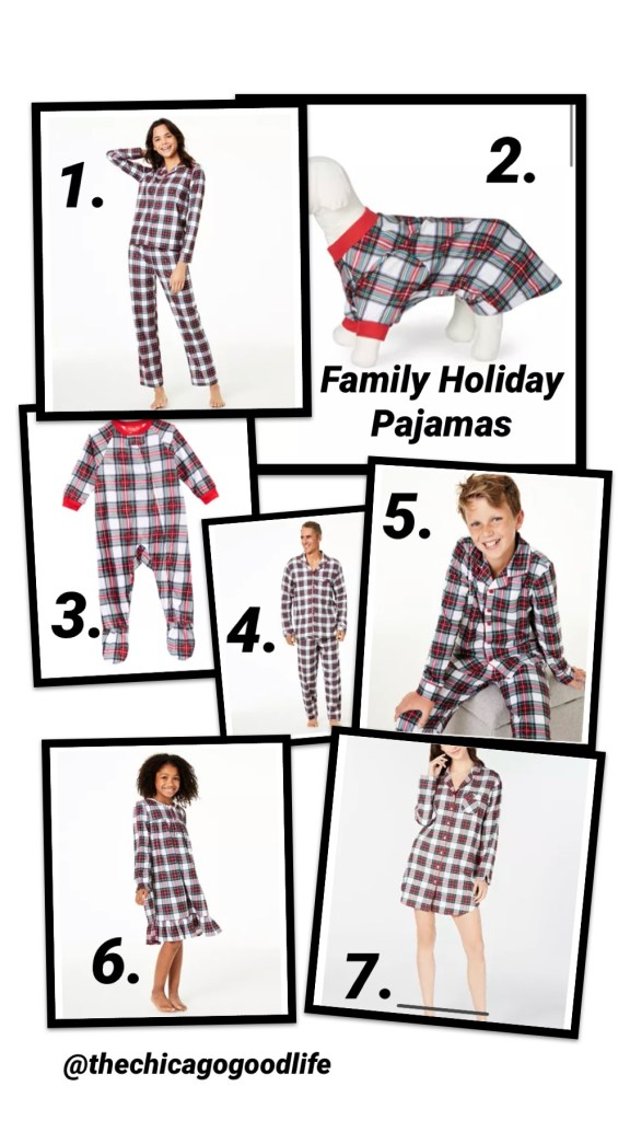 Family holiday pajamas that we are loving and they are at such an affordable price.