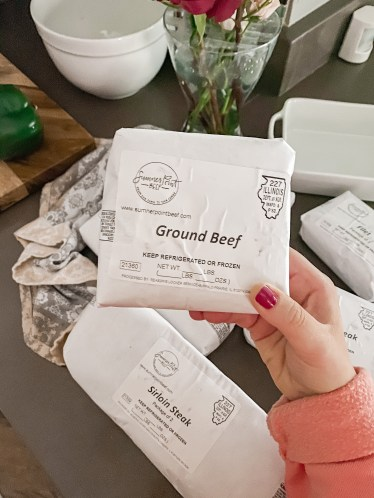 Sumner Point Beef is an Illinois Farm that using sustainable farming practices and they sell a variety of their products in their online store!