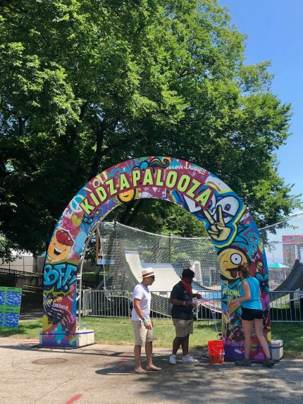 Kidpalooza is a family friendly area at Lollapoolza