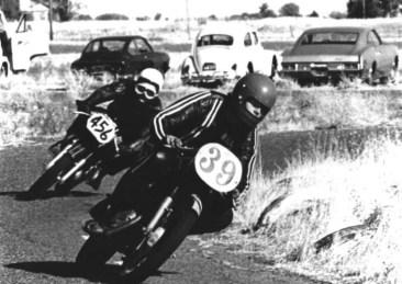 Racing Bultacos at Vaca Valley
