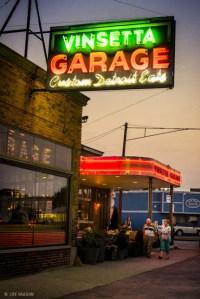 Vinsetta Garage Sign