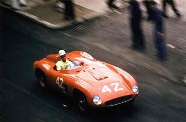 Masten Gregory's Ferrari 500 TR