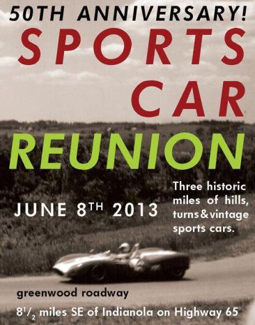 Greenwood Sports Car Reunion - June 8, 2013