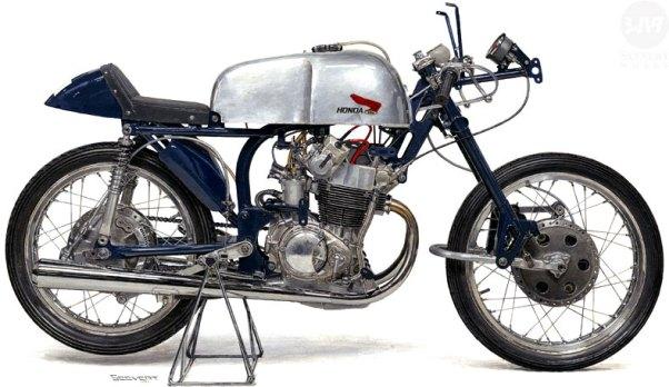 Kenji Shibata's 1959 Honda Painting
