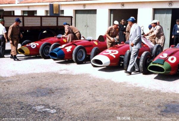 FerrariPaddock.ItalianGP.1957