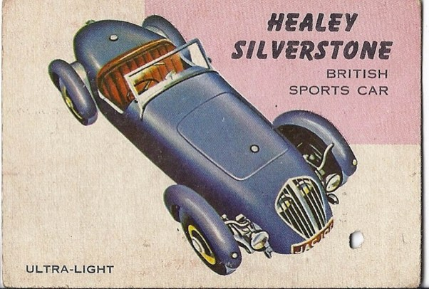 Healey Silverstone trading card
