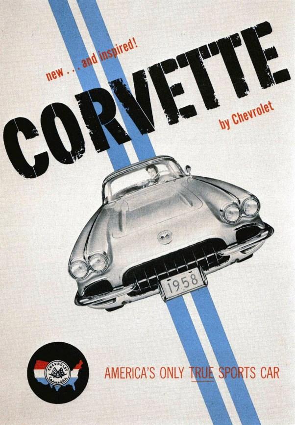 1958 Corvette Ad
