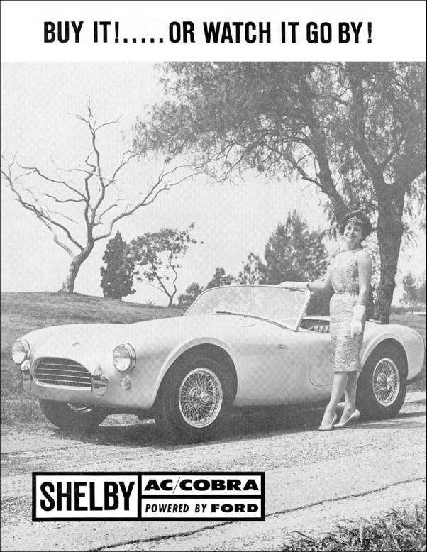 Shelby Cobra ad