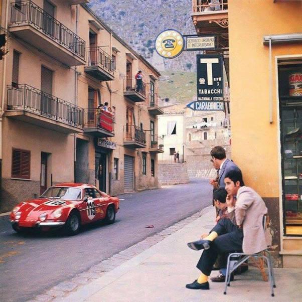 Alpine A110. Targa Florio. 1970.