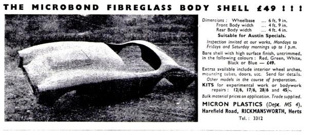 Toledo Fiberglass Sportsca Body Ad