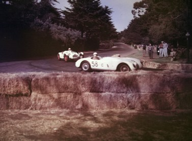 Masten Gregory leads Jack Armstrong at Golden Gate Park