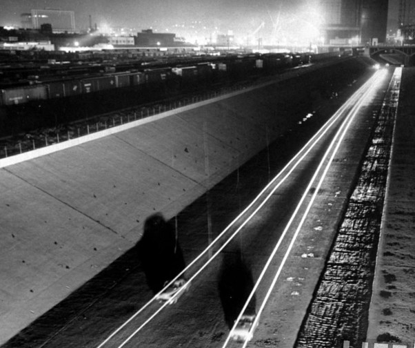 LA River Night Drag Racing