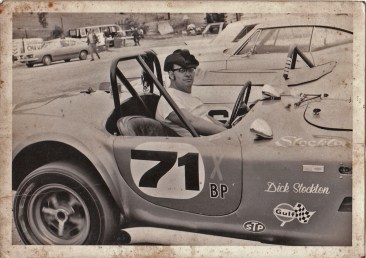 Dick Stockton in a Cobra