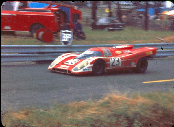 Hans Herrmann and Richard Attwood's Winning Porsche 917