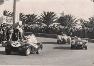 Duncan Hamilton's D-Type at the 1955 Gran Prix d'Agadir
