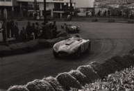 Louis Rosier's Ferrari at the 1955 Gran Prix d'Agadir