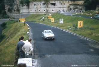 Lancia Appia Zagato at the Mille Miglia, 1958