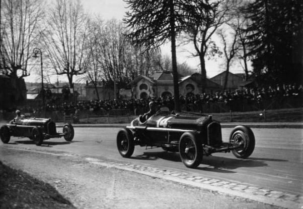 Dreyfus and Nuvolari at the 1935 Grand Prix de Pau