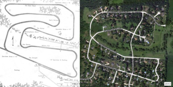 Lynndale Farms Raceway Then and Now