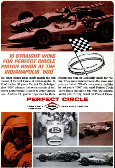 Dana Piston Rings ad