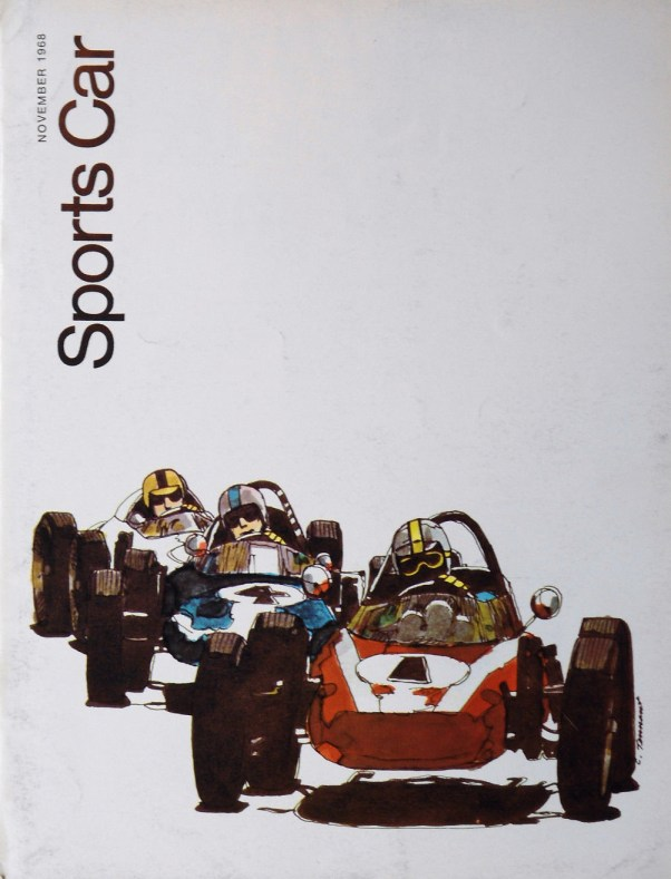 1968 Formula Vee Sports Car Magazine Cover