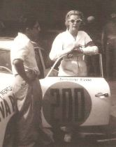 Jacqueline Evans at the 1953 Carrera Panamericana