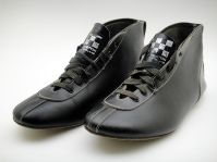 Vintage Les Leston racing boots
