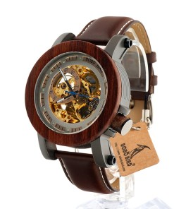 Automatic Mechanical Bamboo Watch