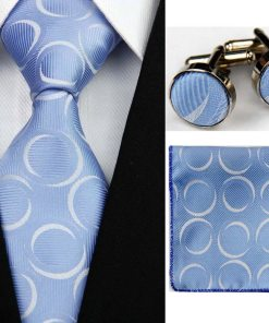 Handkerchief, Cufflinks and Tie for Men
