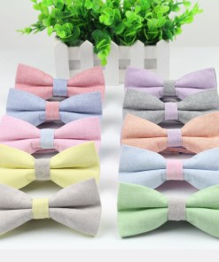 Cute Candy Color Bowtie