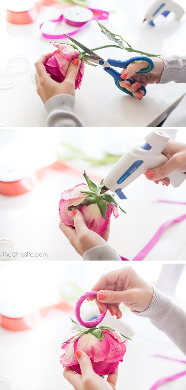 Silk Flower Craft